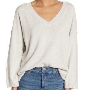 Madewell Lightweight Double V-Neck Sweater